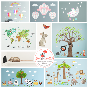 All Nursery Wall Stickers and Decals